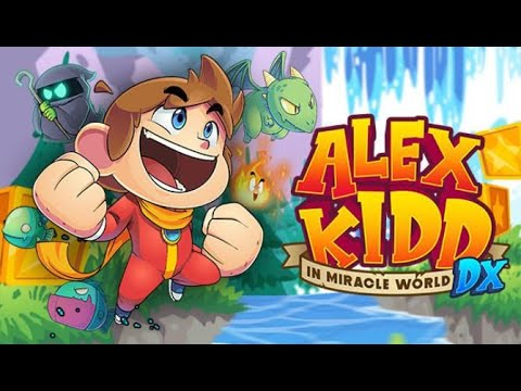 Alex Kidd in Miracle World DX Gameplay 1080p 60fps  