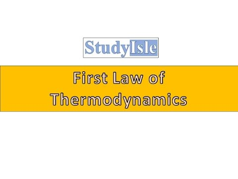 T6. First Law of Thermodynamics Based on UPSC Engineering Services Examination (Hindi)