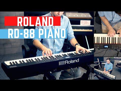 ROLAND RD 88 Grand PIANO SCENE Sounds