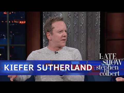 Kiefer Sutherland's Mom Has An Impersonation Of Stephen