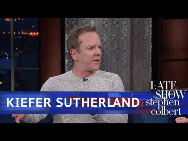 Kiefer Sutherlands Mom Has An Impersonation Of Stephen