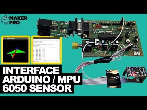 How to Interface Arduino and the MPU 6050 Sensor | Arduino | Maker Pro