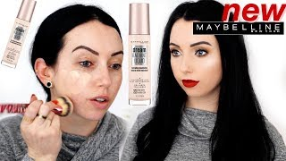 NEW Maybelline Dream Radiant Liquid Hydrating FOUNDATION | First Impression Review & 10 HR WEAR TEST