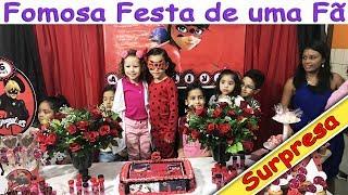 FOMOS NA FESTA DE UMA INSCRITA/FÃ - VALENTINA ANIVERSÁRIO SURPRESA DA LADYBUG MIRACULOUS