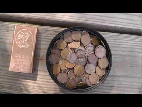 Investing in Copper - Bars vs. U.S. Cents