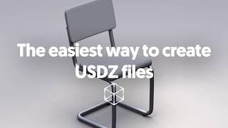 Zum erstellen oder konvertieren USDZ-Dateien - erstellen von AR-Inhalten für iOS-12 mit Vectary