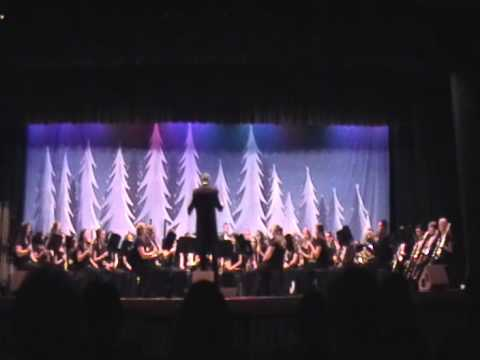 Mooresville Sr High School Wind ensemble grownup christmas l