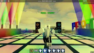 Roblox sans default dance