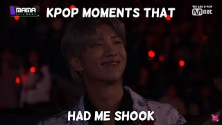 kpop moments that had me shook (My favorite kpop moments) #1