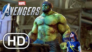 MARVEL'S AVENGERS Beta All Cutscenes Full Movie (2020) HD Iron Man, Hulk, Captain America