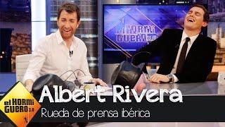Trancas y Barrancas le hacen una 'Rueda de Prensa Ibérica' a Albert Rivera - El Hormiguero 3.0