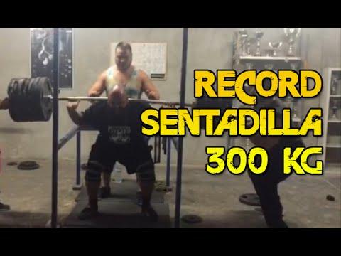 CARLOS DEMATTEY 300KG [661,6LB] SQUAT RECORD - RECORD