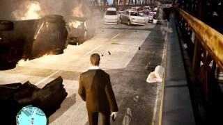 Взрыв машин в GTA 4