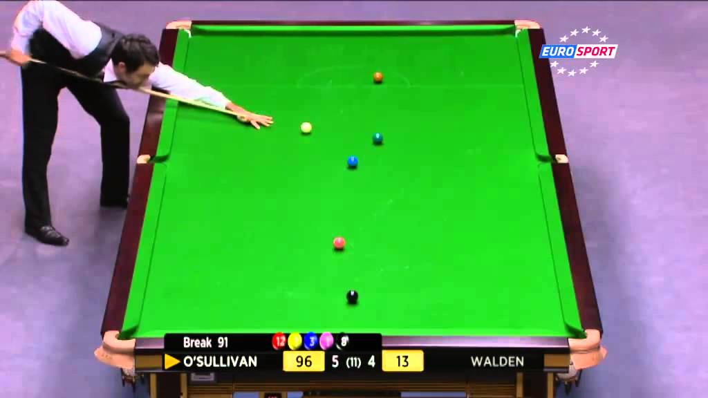 Ronnie O Sullivan pure genius Watch Ronnie equal Stephen Hendry s record