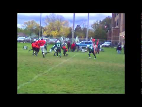 Phenom Wide Receiver/Free Safety - Diamante Freeman -  Milwaukee Spartans - class of 2015