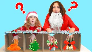 What's in Christmas Boxes?? CHALLENGE!!!