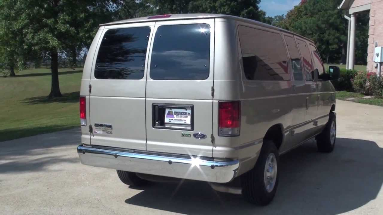 hd video 2013 ford e350 12 passenger used for sale see www sunsetmilan com youtube [ 1280 x 720 Pixel ]