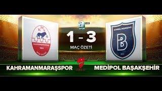 Kahramanmaraşspor 1-3 M. Başakşehir   Maç Özeti HD   a spor   30.11.2017