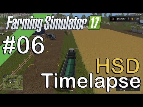 Farming Sim 17 - HSD - Timelapse #6 - The Cows are Here