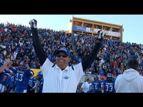 St. Michael's Horsemen Win Football State Championship (By NMPreps ...