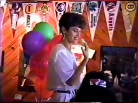 Eddy Santamaria Jr & Jennifer 1991 - 1992 Eddy's 3rd B Day Party At Shortstops Grill