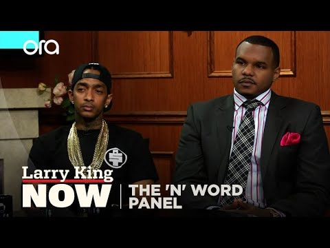 "The 'N' Word Panel on ""Larry King Now"" - Full Episode Available in the U.S. on Ora.TV"