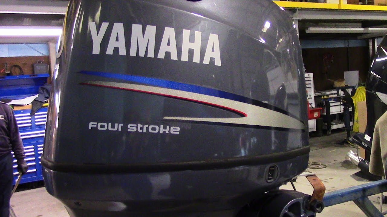 6m4d06 Used 2010 Yamaha F90TLR 90HP 4-Stroke Outboard Boat Motor 20