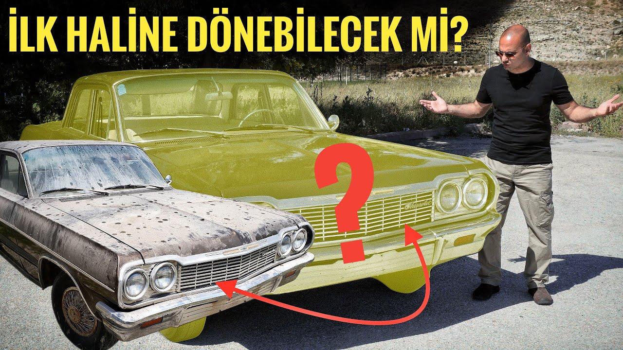 TOZLU GARAJ | Seramik Kaplama | 20 Yıl Önce Terk Edilmiş 1964 Chevrolet Eski Haline Dönebilecek Mi?