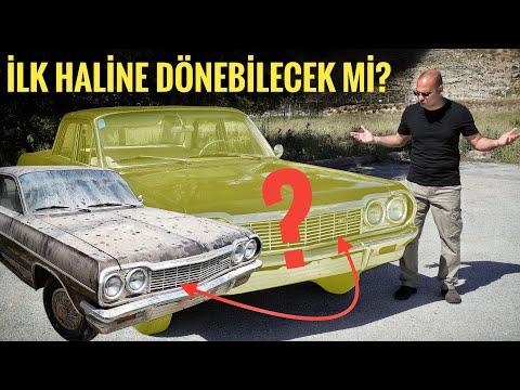20 Yıl Önce Terk Edilmiş 1964 Chevrolet Eski Haline Dönebilecek Mi? | Nasiol & Vintage Detailing