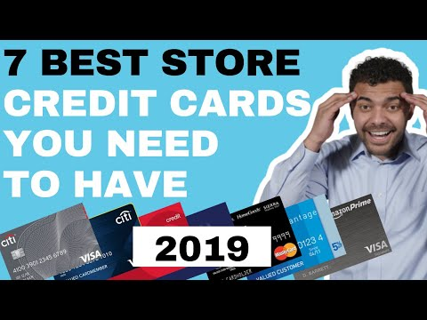 Best STORE Credit Cards 2019 (MASSIVE Store Savings) Full Review