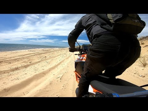 Motoz Tractionator Adventure Tyre Sand Dune Beach Test Ride  And Review.