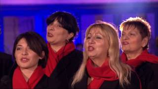 Alex Jones Katie Melua & The Gori Womens Choir Little Swallow In Georgian 2016 12 09