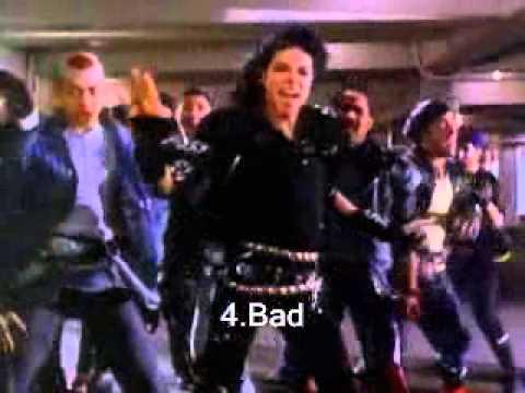 Top 10 Michael Jackson 80s