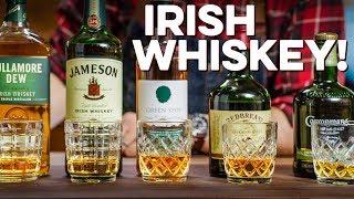 Tasting & Ranking 5 Irish Whiskeys | How to Drink