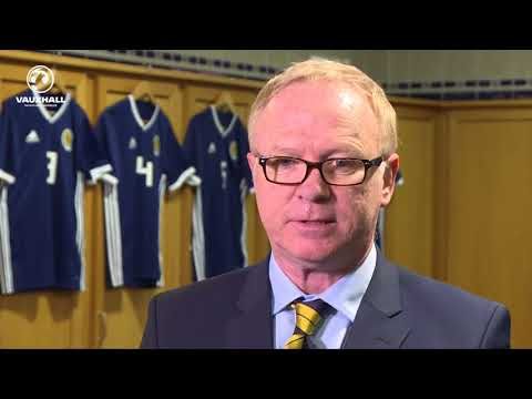 Alex McLeish Gives His First Interview as Scotland Head Coach
