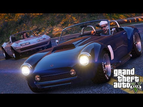 GTA V| Classic Sports Car Chase (Cinematic)