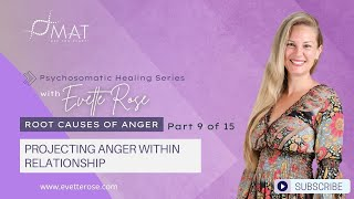 Root Causes of Anger Part 9 of 15 Projecting Anger within Relationships