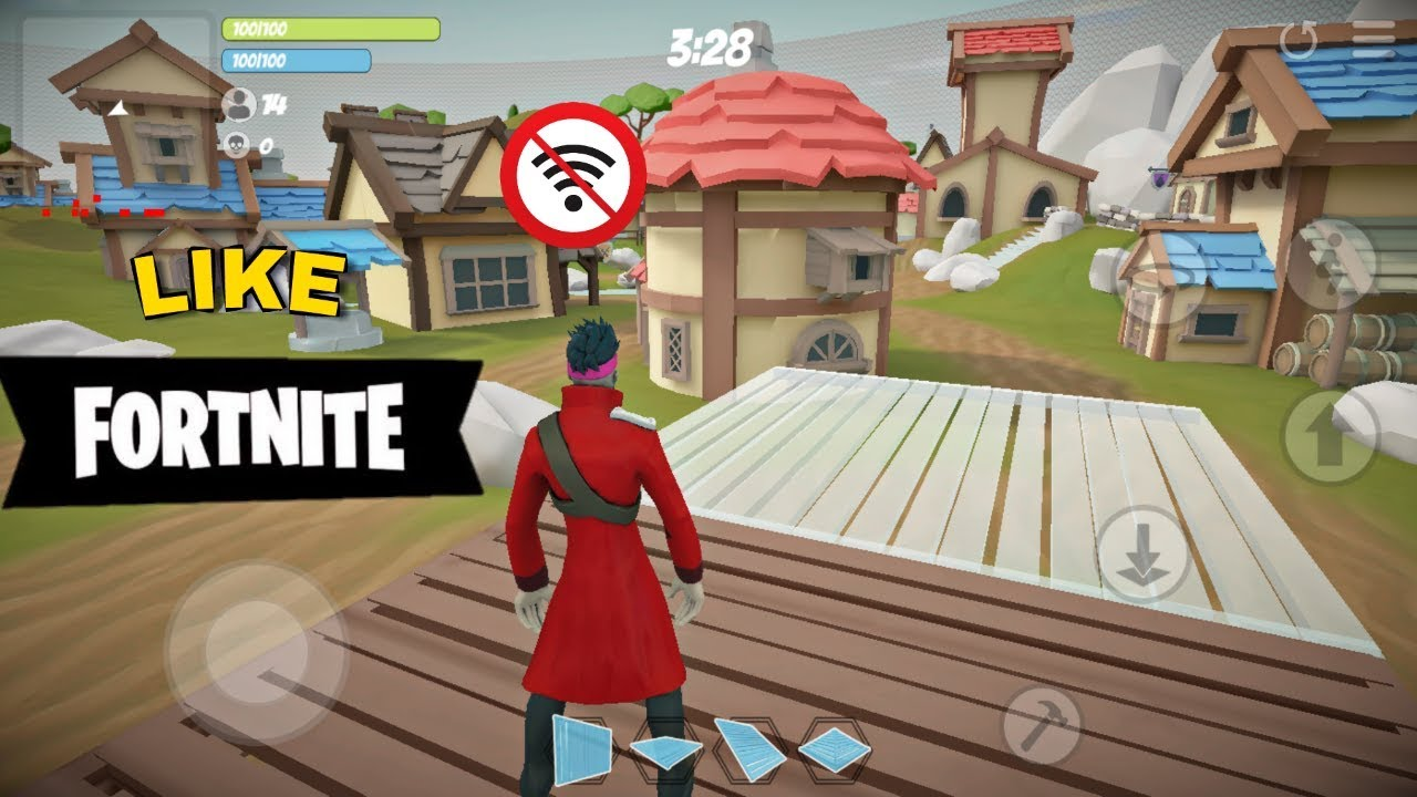Game Like Fortnite! Offline Trainer.io Android Gameplay ...
