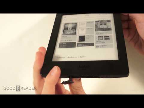 How to Load an SD Card on the Kobo H2O