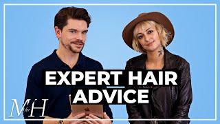 Expert Haircut and Style Advice For You!   Ask The Barber   Ep 2