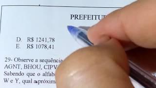2 QUESTÕES DE CONCURSO MATEMÁTICA BÁSICA - PE (Questões 27 e 28)