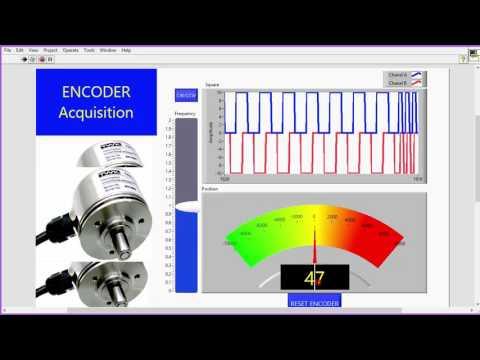 Đọc Encoder - Lập trình nhúng LabVIEW cho Arduino #9