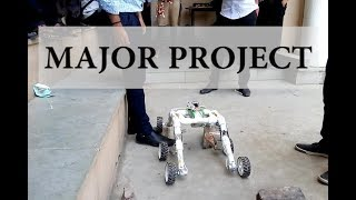 MAJOR PROJECT | MECHANICAL PROJECT | FINAL YEAR PROJECT