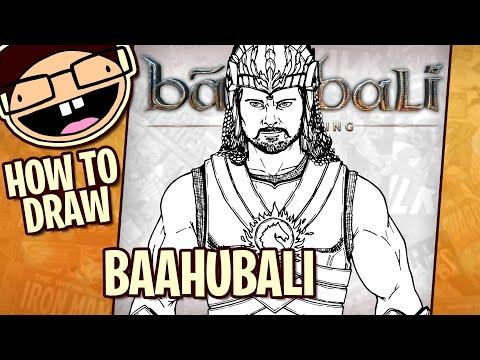 How To Draw BAAHUBALI (Baahubali) | Narrated Step-by-Step Tutorial