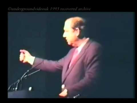 Bill Cooper - Wembley Speech - London UK (1993)