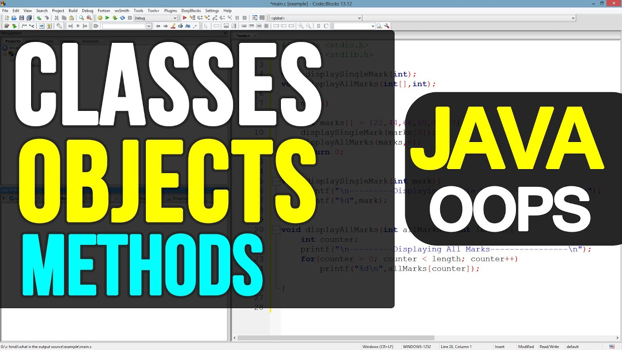 More on classes objects methods java programming tutorials for more on classes objects methods java programming tutorials for beginners youtube baditri Image collections