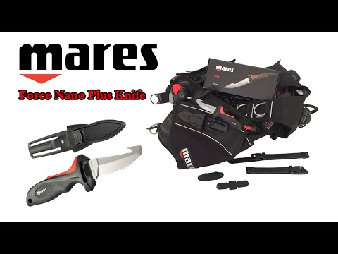 Mares Force Nano Plus BCD Knife - سكين من شركة مارس