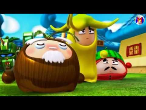 Robo Trái Cây Phần 2 Tập 1  Fruity robo 2   YouTube 360p