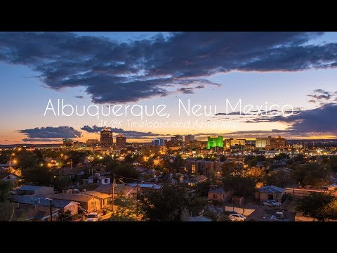 Albuquerque, New Mexico in 4K/8K