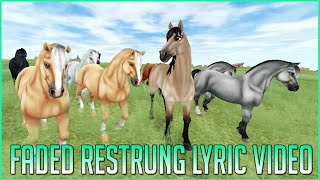 Faded restrung - Lyric Video | Star Stable